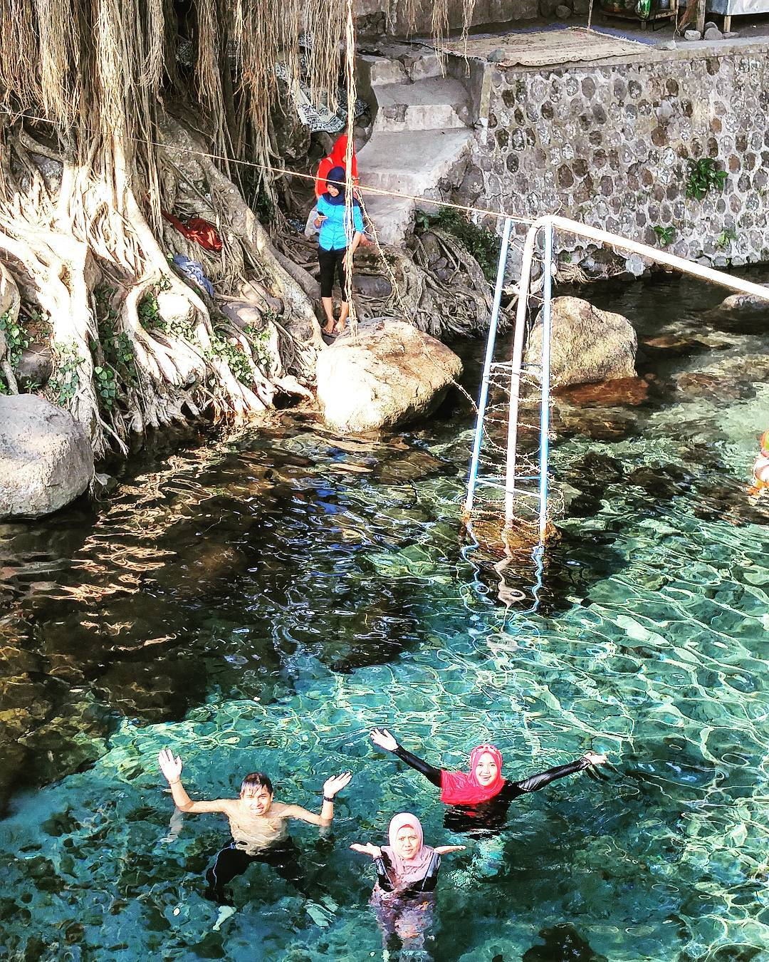Umbul Sigedang Klaten, Sensasi Mandi di Sumber Mata Air Alami