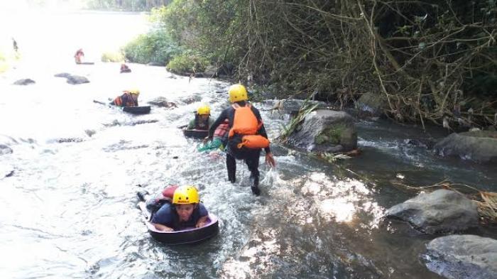 Wisata Riverboarding Kali Pusur Klaten Ajang Adu Nyali