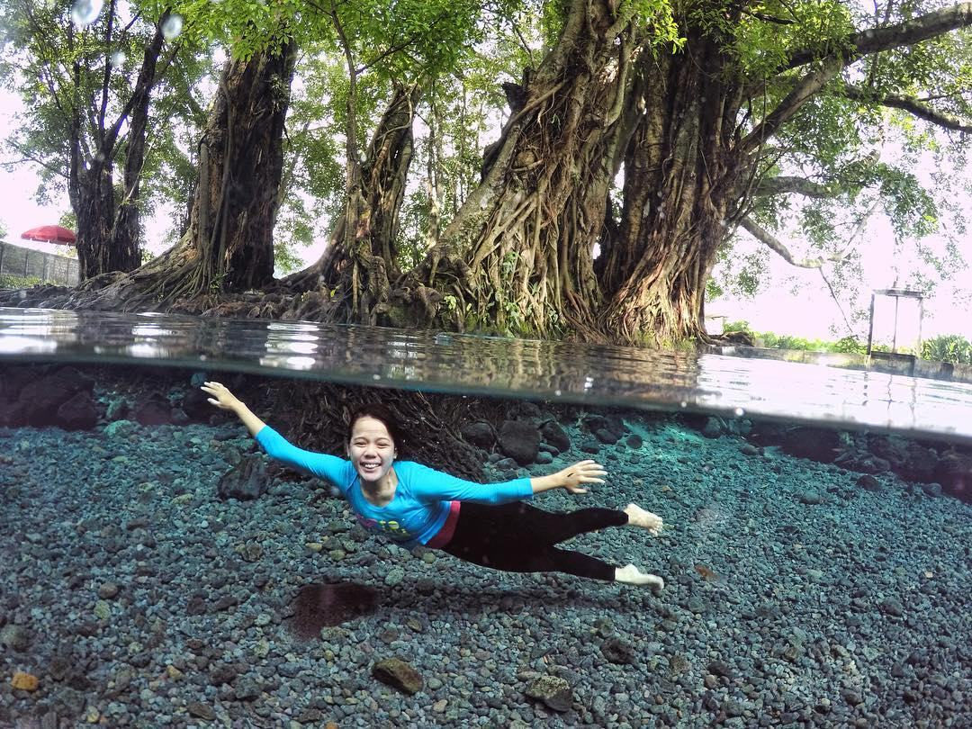 Wisata Umbul Manten Klaten Bisa Foto di Dalam Air