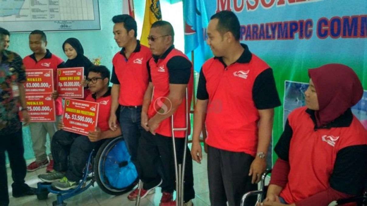 Berprestasi, Belasan Atlet Disabilitas Klaten Terima Penghargaan
