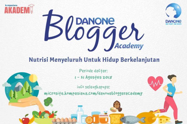 Lingkungan? Gabung Danone Blogger Academy 2018, Yuk!
