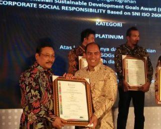 AQUA Klaten kembali raih Platinum Awards ISDA 2018