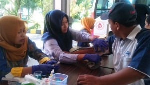 AQUA Klaten Gelar Aksi Donor Darah Rutin