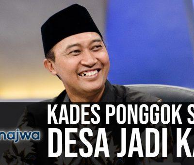 Junaedi Mulyono Kepala Desa di Ponggok, Klaten Jawa Tengah berhasil membuat desa yang awalnya terkenal miskin itu menjadi populer