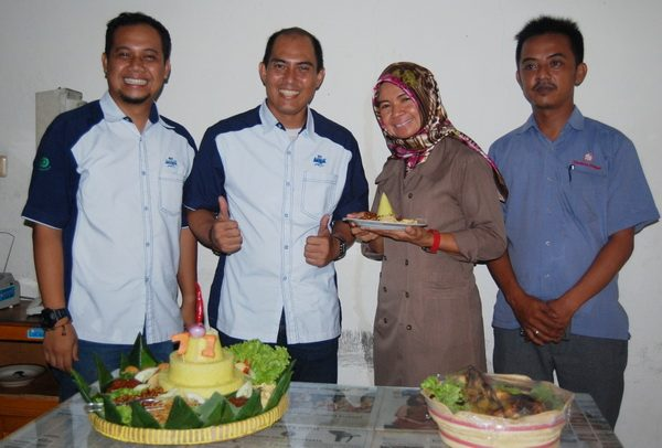 Kedaulatan Rakyat Biro Kalten dan PT. TIV Aqua Klaten