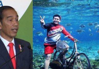 Instagram Presiden Jokowi Posting Obyek Wisata Umbul Ponggok Klaten