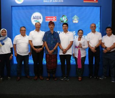 Danone-AQUA dan Circle K dorong Kolaborasi Multipihak untuk Bali yang Lebih Bersih