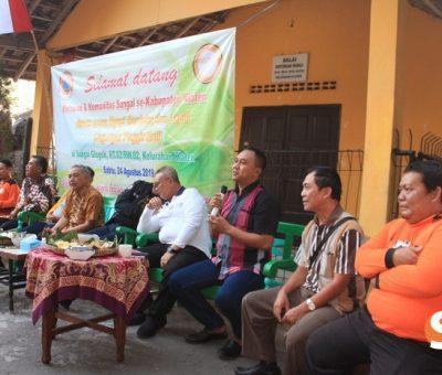 Muliakan Air dan Lestarikan Sungai, Dandim Ikuti Dialog Bersama Relawan Sekolah Sungai Klaten