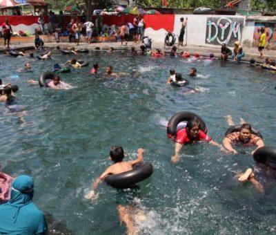 Sensasi Berendam Sekaligus Terapi di Umbul Brintik Malangjiwan Klaten