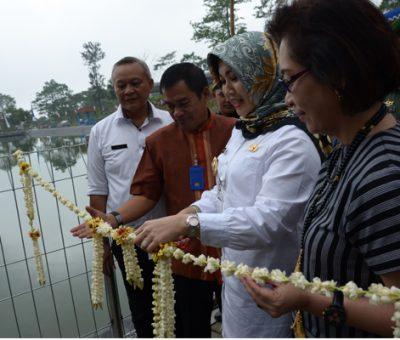Pabrik AQUA Klaten Resmikan Embung Tirtamulya untuk Dukung Ketersediaan Air Bersih