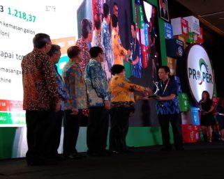 Enam Pabrik Danone Aqua Raih Penghargaan Proper Hijau