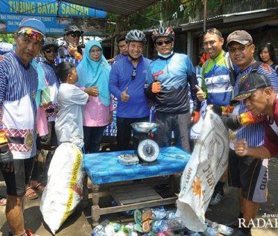 Kumpulkan Sampah, Ditukar Tiket untuk Wisata Tubing  Kali Pusur
